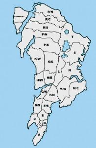 city ward map